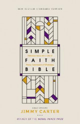 Omslag - NRSV, Simple Faith Bible, Hardcover, Comfort Print