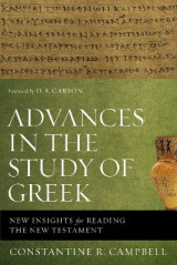 Omslag - Advances in the Study of Greek
