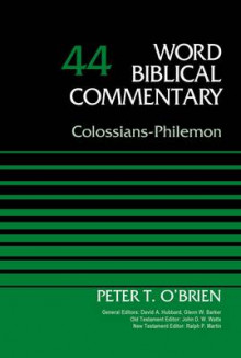 Colossians-Philemon: Volume 44 av Peter O'Brien (Innbundet)