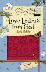 Omslag - NIrV Love Letters from God Holy Bible, Imitation Leather, Magenta