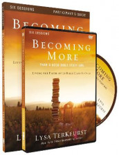Becoming More Than a Good Bible Study Girl Participant's Guide with DVD av Lysa TerKeurst (Heftet)