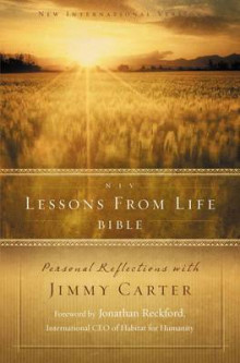 NIV, Lessons from Life Bible, Hardcover av Jimmy Carter (Innbundet)