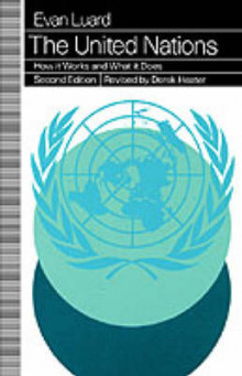 The United Nations 1994 av Evan Luard og Derek Heater (Heftet)