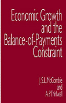 Economic Growth and the Balance-of-Payments Constraint av John McCombie og A. P. Thirlwall (Innbundet)