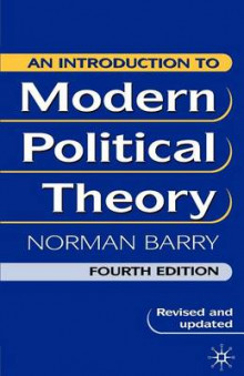 An Introduction to Modern Political Theory av Norman Barry (Heftet)
