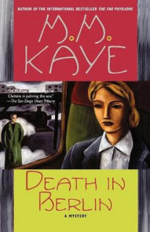 Death in Berlin av M.M. Kaye (Heftet)