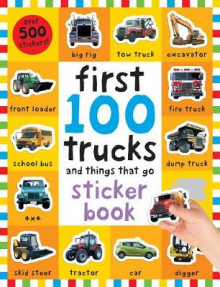 First 100 Stickers: Trucks and Things That Go av Roger Priddy (Blandet mediaprodukt)