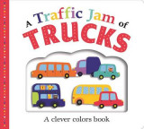 Omslag - Picture Fit Board Books: A Traffic Jam of Trucks (Large)