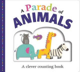 Omslag - Picture Fit Board Books: A Parade of Animals (Large)