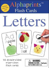 Omslag - Alphaprints: Wipe Clean Flash Cards Letters