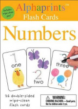 Omslag - Alphaprints: Wipe Clean Flash Cards Numbers