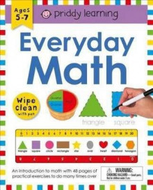 Wipe Clean Workbook: Everyday Math av Roger Priddy (Blandet mediaprodukt)