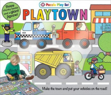 Puzzle Play Set: Playtown av Roger Priddy (Pappbok)