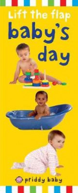 Omslag - Priddy Baby Lift-The-Flap: Baby's Day
