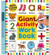 Omslag - Wipe Clean: Giant Activity Workbook