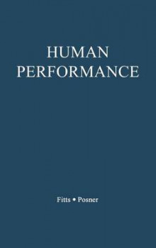 Human Performance av Paul Morris Fitts og Michael I. Posner (Innbundet)
