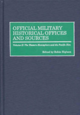 Omslag - Official Military Historical Offices and Sources: The Western Hemisphere and the Pacific Rim Volume II