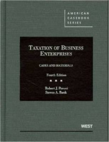 Taxation of Business Enterprises, Cases and Materials av Robert J. Peroni og Steven A. Bank (Innbundet)