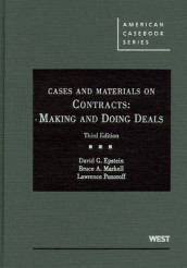 Cases and Materials on Contracts av David Epstein, Bruce Markell og Lawrence Ponoroff (Innbundet)