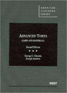 Advanced Torts av George Christie og Joseph Sanders (Innbundet)