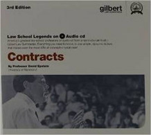 Law School Legends Audio on Contracts av David Epstein (CD-ROM)