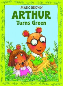 Arthur Turns Green av Marc Brown (Heftet)