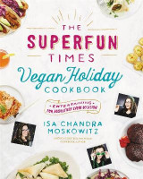 Omslag - The Superfun Times Vegan Holiday Cookbook