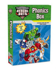 Transformers Rescue Bots: Phonics Box av Lucy Rosen (Heftet)