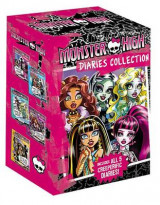 Omslag - Monster High Diaries Collection