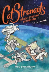 Omslag - CatStronauts: Space Station Situation