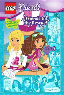 Lego Friends: Friends to the Rescue! (Graphic Novel #2) av Olivia London (Innbundet)