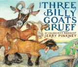 Omslag - The Three Billy Goats Gruff