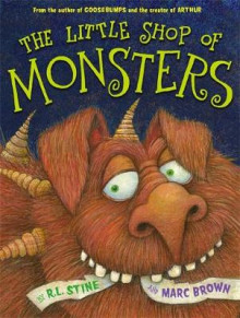 The Little Shop of Monsters av Marc Brown og R. L. Stine (Heftet)