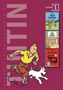 Adventures of Tintin 3 Complete Adventures in 1 Volume: WITH Cigars of the Pharaoh AND The Blue Lotus av Herge (Innbundet)