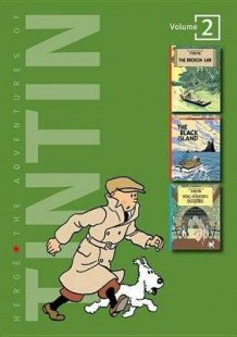 Adventures of Tintin 3 Complete Adventures in 1 Volume: WITH The Black Island AND King Ottokar's Sceptre av Herge (Innbundet)