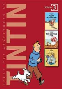 Adventures of Tintin 3 Complete Adventures in 1 Volume: WITH The Shooting Star AND The Secret of the Unicorn av Herge (Innbundet)