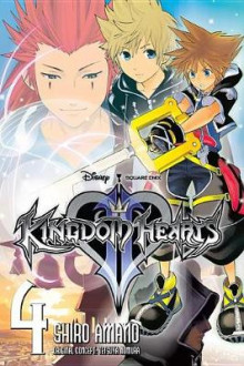 Kingdom Hearts Ii, Vol. 4 av Shiro Amano (Heftet)