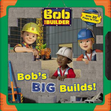 Bob the Builder: Bob's Big Builds! av Mattel og Cindy Lucci (Pappbok)