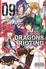 Omslag - Dragons Rioting, Vol. 9