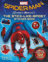 Omslag - Spider-Man: Homecoming: The Stick-Like-Spidey Sticker Book