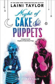 Night of Cake & Puppets av Laini Taylor (Innbundet)
