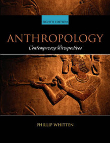 Anthropology av Phillip Whitten (Heftet)