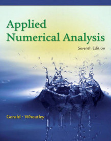 Applied Numerical Analysis av Curtis F. Gerald og Patrick O. Wheatley (Heftet)