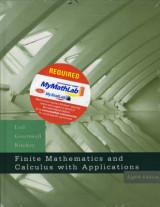 Omslag - Finite Mathematics and Calculus with Applications Plus MyMathLab Student Starter Kit