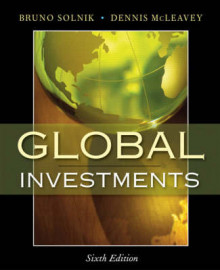 Global Investments av Bruno Solnik, Dennis McLeavey og CFA Institute (Innbundet)