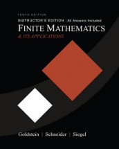 Finite Mathematics and Its Applications av Larry Joel Goldstein, David I. Schneider og Martha J. Siegel (Innbundet)