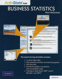 Lab Version of ActivStats for Business Statistics av Paul F. Velleman (CD-ROM)