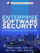 Enterprise Software Security av Diana L. Burley, Mark G. Graff, Dan S. Peters og Kenneth R. van Wyk (Heftet)