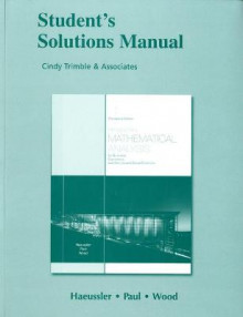 Student Solutions Manual for Introductory Mathematical Analysis for Business, Economics, and the Life and Social Sciences av Ernest F. Haeussler, Richard S. Paul og Richard J. Wood (Heftet)