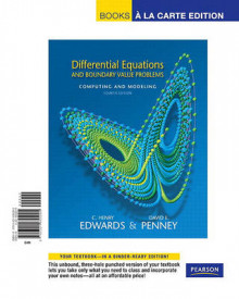Differential Equations and Boundary Value Problems av C Henry Edwards og David E Penney (Perm)